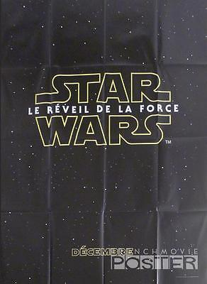 Star Wars Le Reveil De La Force - Affiche Preventive Originale Grand Format