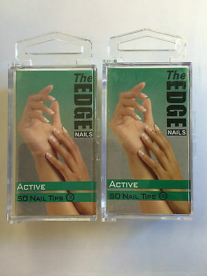 The Edge Actif Ongles Artificiels 50 Taille 9 Ou 10