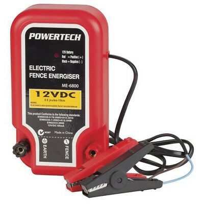 Powertech Electric Fence Energiser - 10km