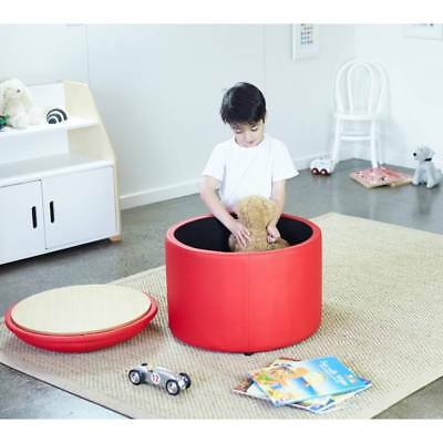 New Kids Childrens Toddler Red Toy Storage Chest Box Activity Table Chair