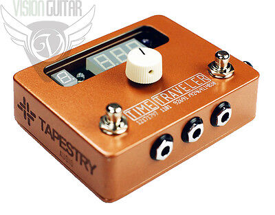 NEW! Tapestry Audio Time Traveler 3-Outputs BPM Tap Tempo Synchronization Pedal