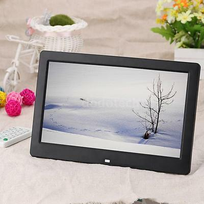 "10.1""Cornici digitali HD Photo Frame Aluminium MP3 MP4Player telecomando C6FT"