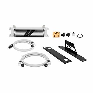Mishimoto Thermostatic Oil Cooler Kit - Silver - fits Impreza WRX & STi - 01-05