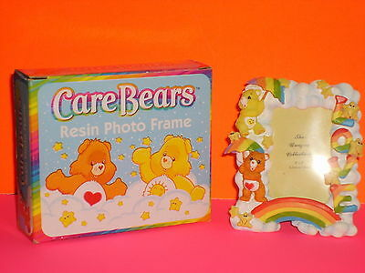 CARE BEAR~resin photo frame~Show them you care with a Care Bears photo frame NIB