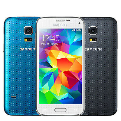 Samsung Galaxy S5 mini SM-G800F 16GB GSM Factory Unlocked Smartphone Black/White