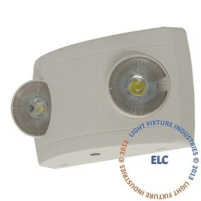 LED Emergency Light - Ultra Compact - ALL LED Lamps - Fire Safety UL924 - ELCW2