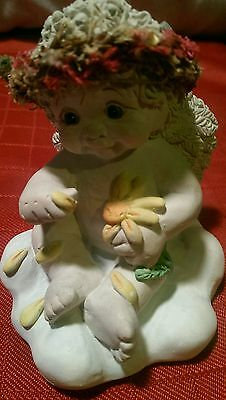 Dreamsicles Loves Me Loves Me Not 10644 Cast Art Figurine 1998 Signed 2000