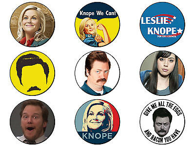 PARKS AND RECREATION (Various Designs) Button Badge 25mm / 1 inch