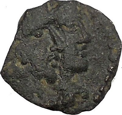 King Rabbel II w  Hagru Arab Caravan Kingdom of Nabataea 101AD Greek Coin i50428