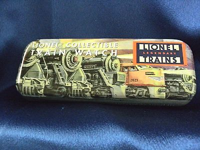 Lionel Train Watch Tin Locomotives Railroad Loose Pearls Cages Holder