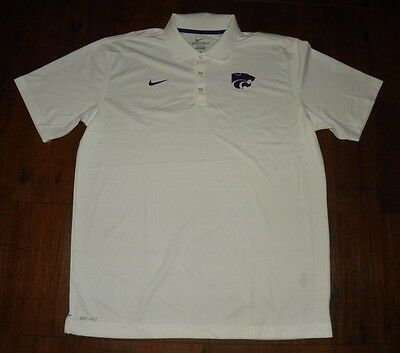 buy online d916e 1bb29 Kansas State Wildcats Nike DRI-FIT Performance Polo New
