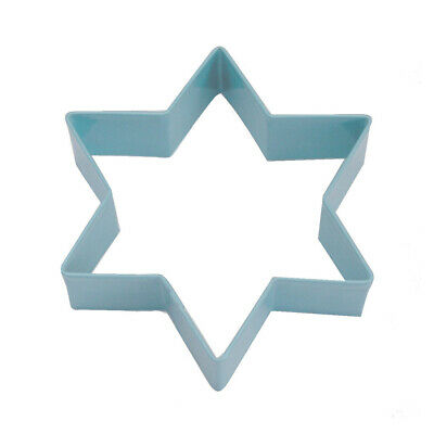 Eddingtons Blue 6 Point Star Cookie Cutter - Christmas Pastry & Biscuit Cutter