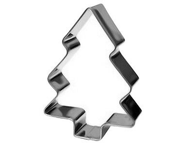 Eddingtons Christmas Tree Cookie Cutter - Pine Tree Pastry & Biscuit Cutter