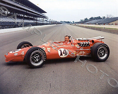 Aj Foyt 1967 Indy 500 Auto Racing 8X10 Photo