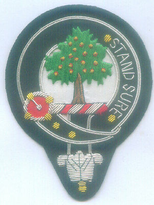 Royal Scottish Scotland Clan Anderson Heraldry Arms Crest Family Name COA Patch