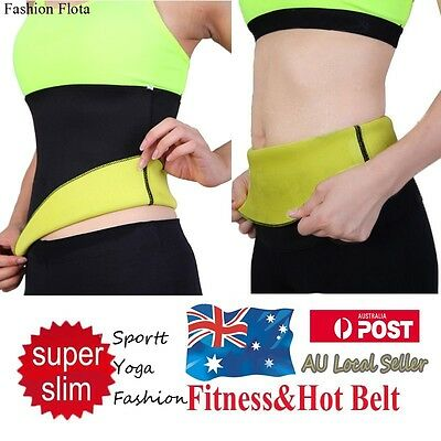 Body Shaper Waist trainer tummy trimmer neoprene slimming Belt hot shaper on TV
