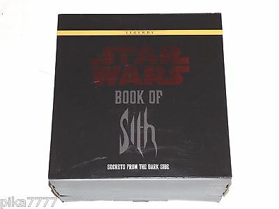 Star Wars Book of Sith - Secrets From The Dark Side Vault Edition Sealed Box NEW