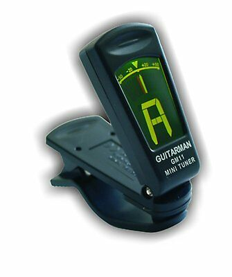 Guitar Man GM11 Clip-on Tuner.Precise And Easy To Use.Guitars,Basses,Ukes etc