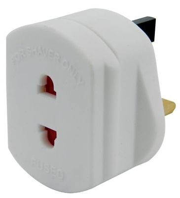 Eu 2 Pin To 3 Pin Electric Shaver Adapter Toothbrush Plug Adaptor Convertor