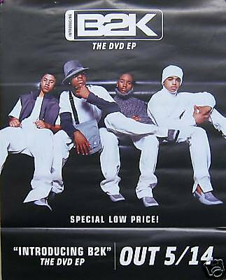 B2K, Double Sided Poster, Dvd Ep Promo  (B13)