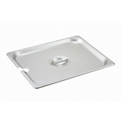 Lid for Steam-Table Pan: Half Size Slotted