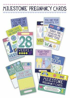 Photo Cards -Milestone Pregnancy Photo Cards -Capture Memories -Mum To Be - Gift