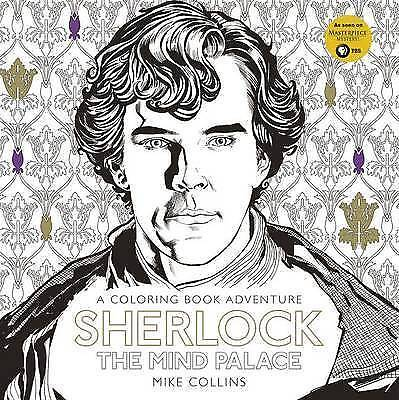 NEW Sherlock: The Mind Palace: A Coloring Book Adventure by Mike Collins