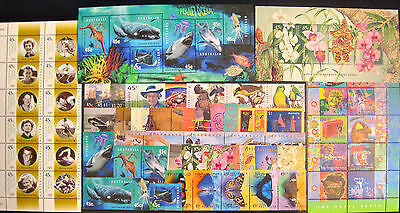 Full Year Collection of 1998 Australian Stamps