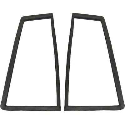 1961-1962 Buick Oldsmobile Pontiac 4dr Wagon Rear Window Gaskets for Sides