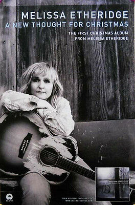 Melissa Etheridge Poster, A New Thought For Xmas (R7)