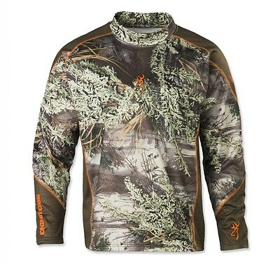 Browning Hell's Canyon Midweight Base Layer Mock Neck Top