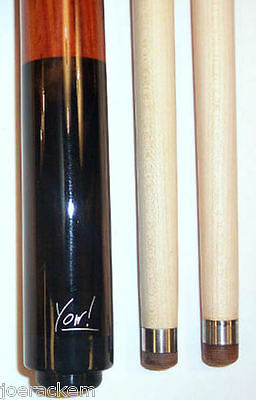 "Eric ""The Preacher"" Yow - Masse Cue - 2 shafts + Joint Caps - Ebony & Rose Wood"