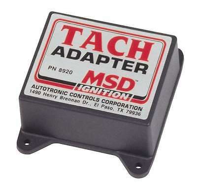 Msd Ignition 8920 Tachometer Adapter