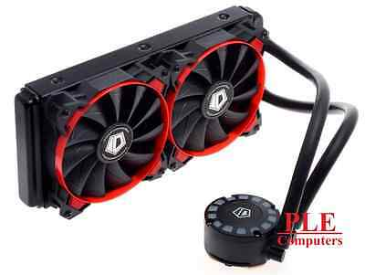 ID-COOLING FrostFlow 240L Red LED CPU Liquid Cooler[FROSTFLOW 240L-R]