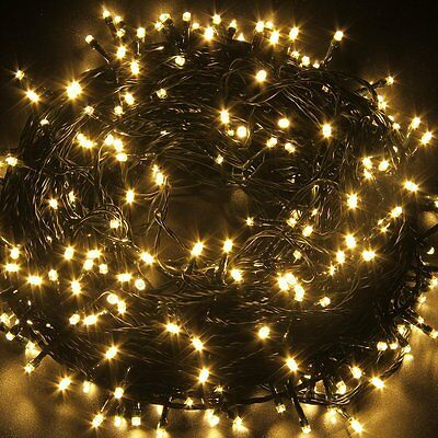 500LED100M Waterproof Christmas Fairy String Lights Wedding In/Outdoor Party
