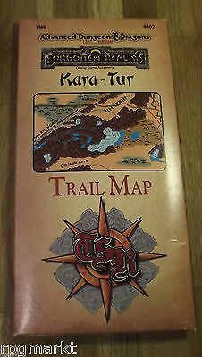 Kara-Tur: Trail Map/Tm5 (Advanced Dungeons & Dragons Forgotten Realms)