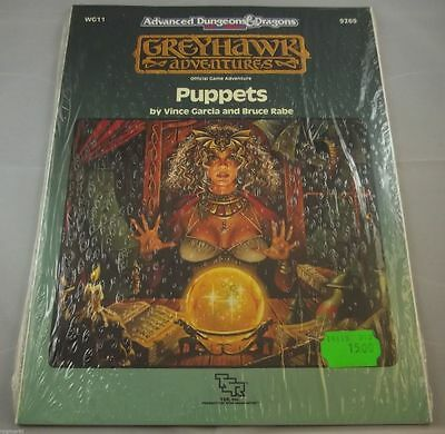 AD&D - Greyhawk Puppets Gargoyle ( Official Game Adventures) -OVP- -SHRINK-