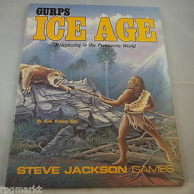 GURPS Ice Age : Roleplaying in the Prehistoric World   TOP