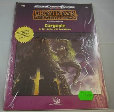 AD&D - Greyhawk Gargoyle ( Official Game Adventures) -OVP- -SHRINK-