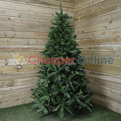 7ft (210cm) Snowtime Luxury Kateson Fir Christmas Tree in Green with 1,148 tips