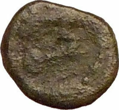 MARCIAN 450AD Ancient Genuine Rare Roman Coin Monogram within wreath  i22763