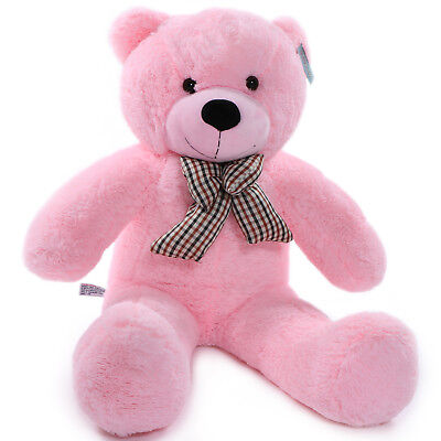 "Joyfay® 39"" 100cm Pink Giant Teddy Bear Big Stuffed Plush Toy Christmas Gift"