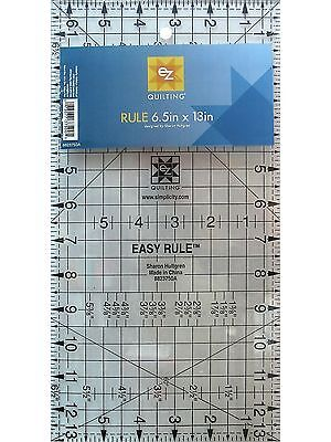 "Simplicity EZ Quilt 6.5"" x 13"" Ruler Template for Patchwork and Quilting"