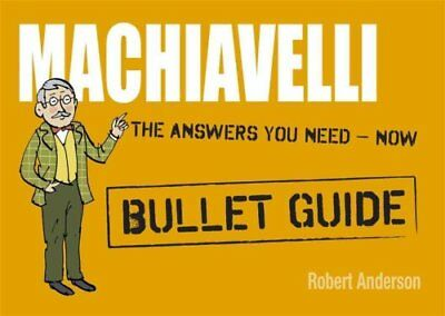 Machiavelli by Robert Anderson (Paperback, 2012)