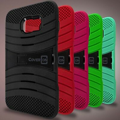 For Samsung Galaxy S6 Edge+ Plus Case - Hybrid Heavy Duty Tough Phone Cover