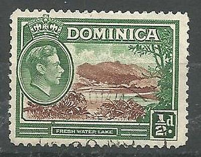 DOMINICA 1938-47 SG99 1/2d Brown and Green Fine Used