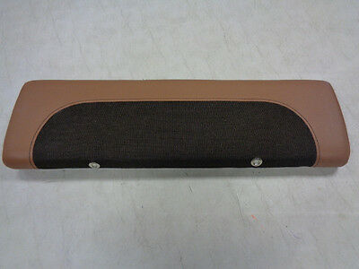 """Scout Boat Seat Cushion Tan / Brown 26 1/2"""" X 8"""" Marine Boat"""