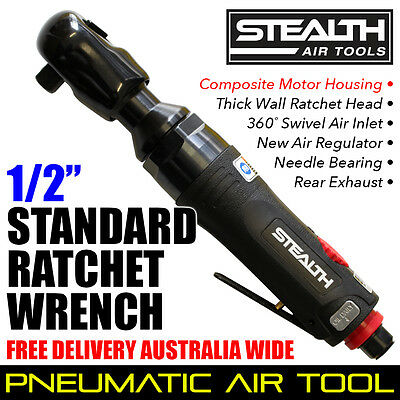 """STEALTH 1/2"""" Standard Ratchet Wrench Tool PIA 023-34 Trade Quality Air Tools"""