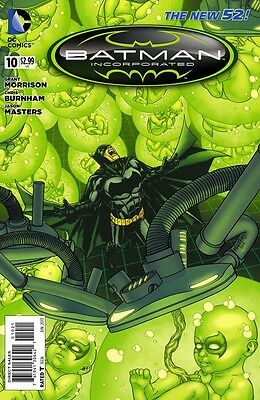 Batman Incorporated Vol 2 #10 Variant Jason Masters Cover -DC- NM