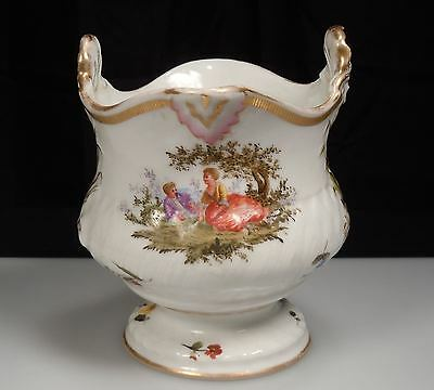 Antique Samson Paris Porcelain Cache Pot Vase